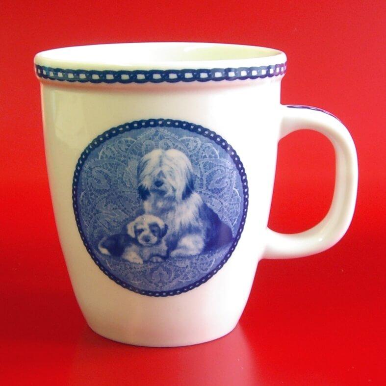 Porcelain Mug made in Denmark Tibetan Mastiff